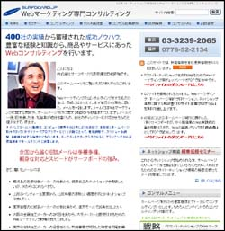 Webマーケティング専門コンサルティング